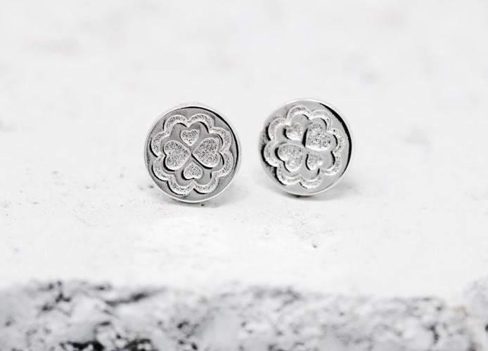 Pieces Of Me Earrings - Loving (Silver)