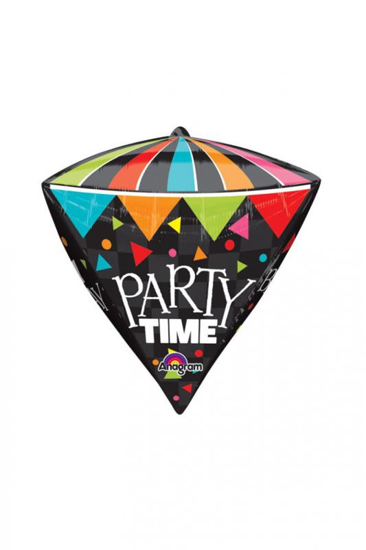 Diamond Party Time Balloon