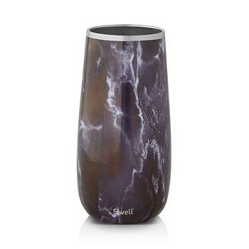 S'well Insulated Black Marble Wine Chiller 25 oz