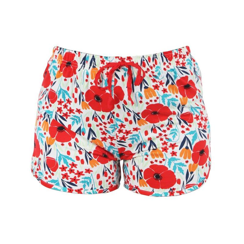 Hello Mello Pajama Shorts - Field Of Dreams