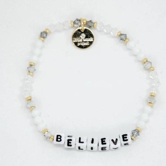 Little Words Project Bracelet - Believe