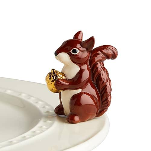 Nora Fleming Mini: Mr Squirrel