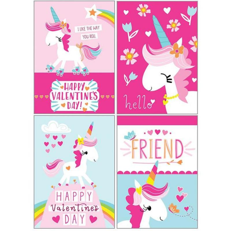 Kids Valentine Pack - Unicorns