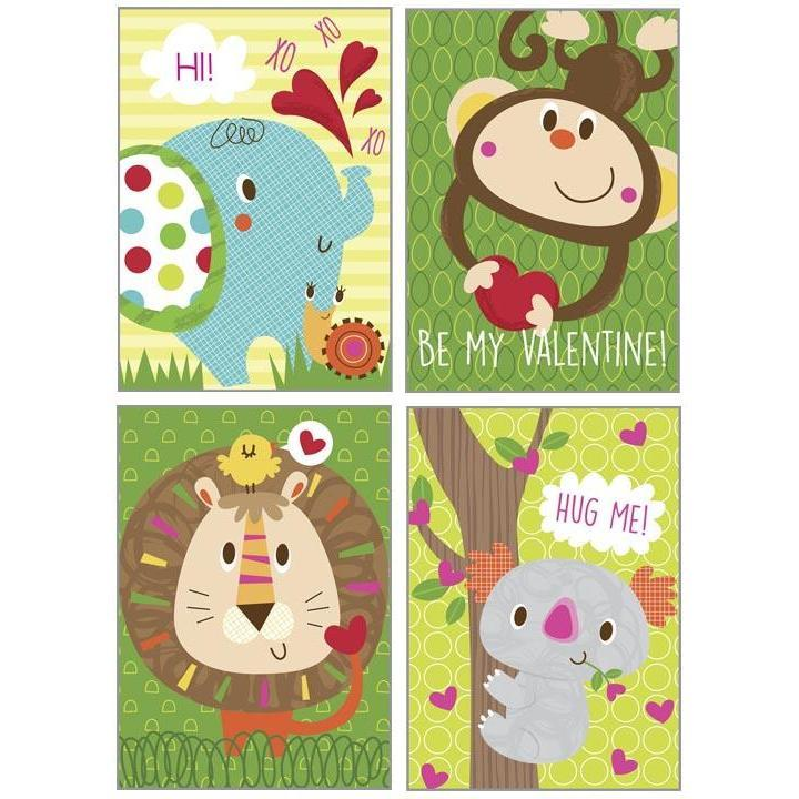 Kids Valentine Pack - Jungle Pals