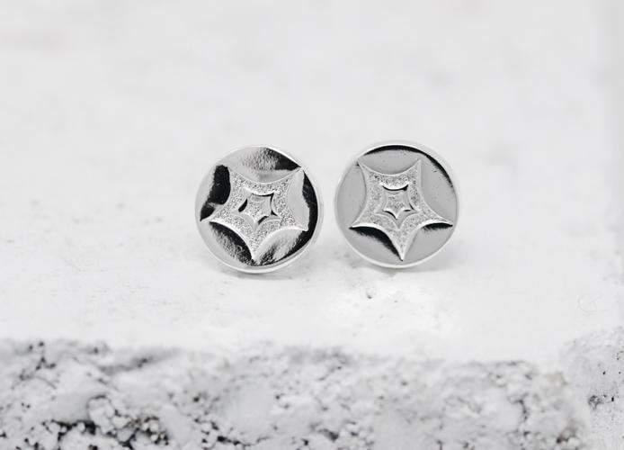 Pieces Of Me Earrings - Passionate (Silver)