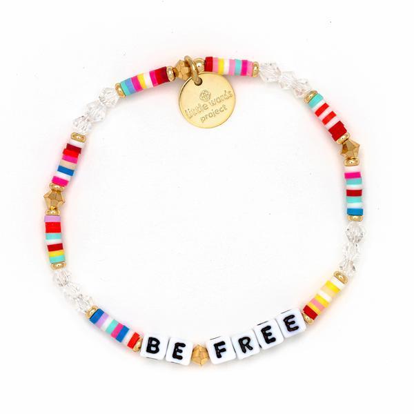 Little Words Project Bracelet - Be Free