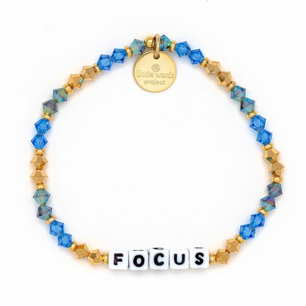 Little Words Project Bracelet - Focus