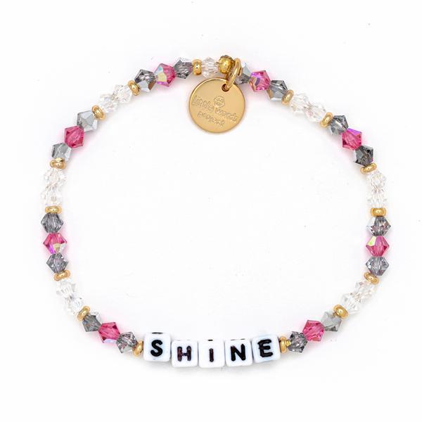Little Words Project Bracelet - Shine