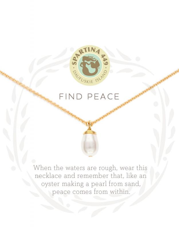 Spartina 449 Necklace - Find Peace