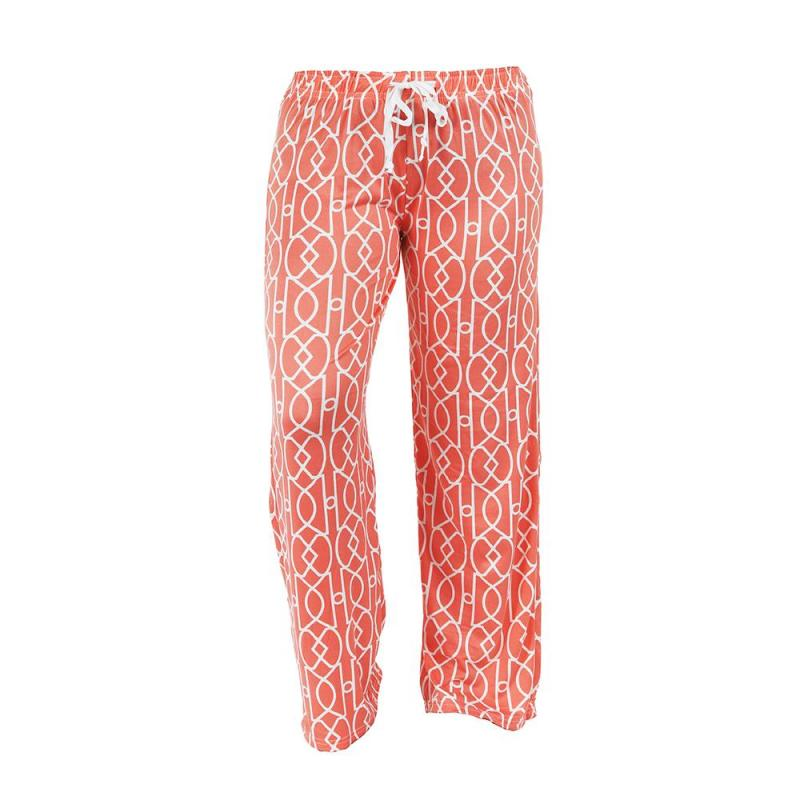 Hello Mello Pajama Pants Calming Coral