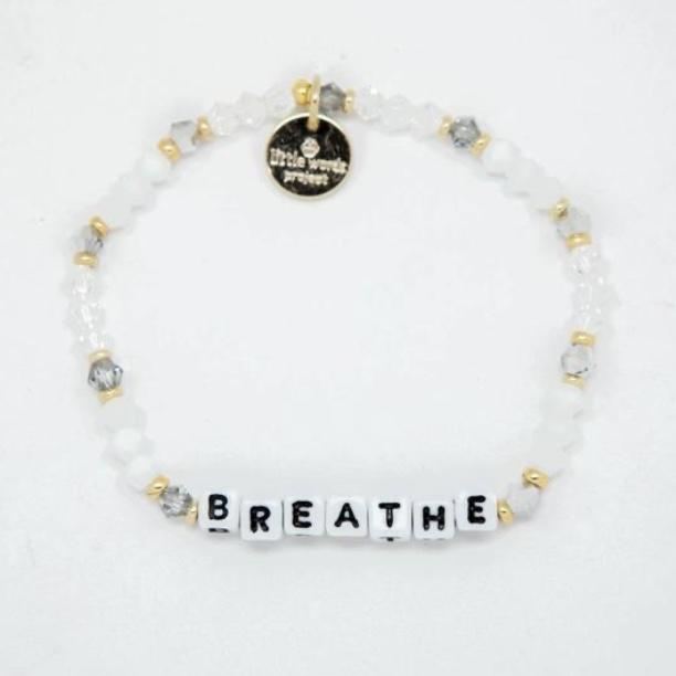 Little Words Projects Bracelet - Breathe