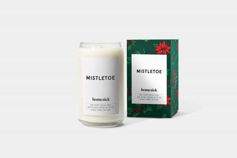 Homesick Candle - Mistletoe Candle