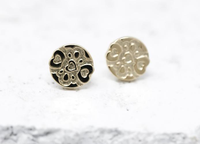 Pieces Of Me Earrings - Compassionate (Gold)