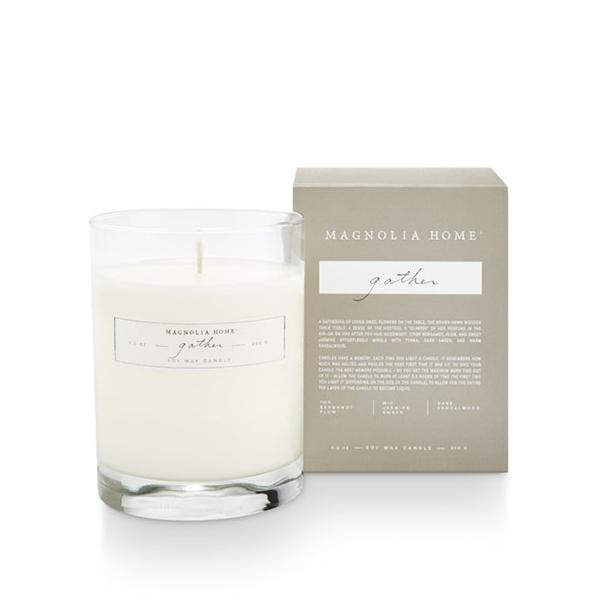 Magnolia Home Boxed Glass Candle - Gather