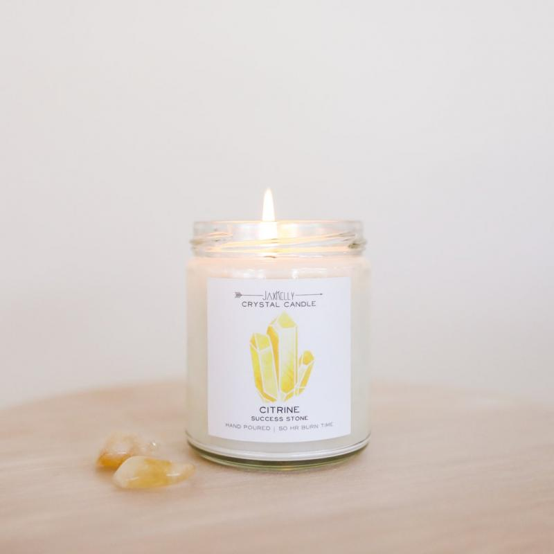JaxKelly Candle - Citrine
