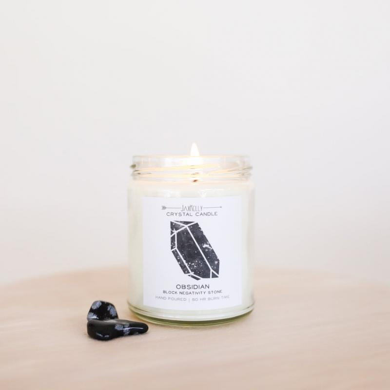 JaxKelly Candle - Obsidian