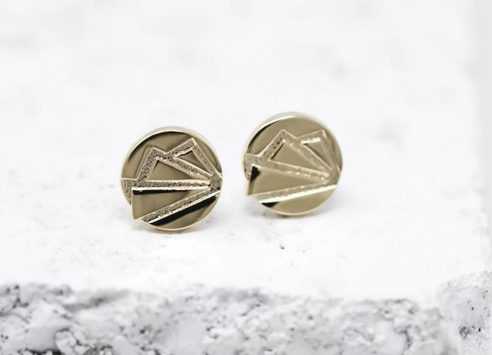 Pieces Of Me Earrings - Ambitious (Gold)