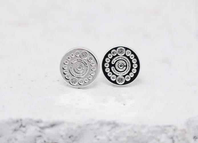 Pieces Of Me Earrings - Creative (Silver)