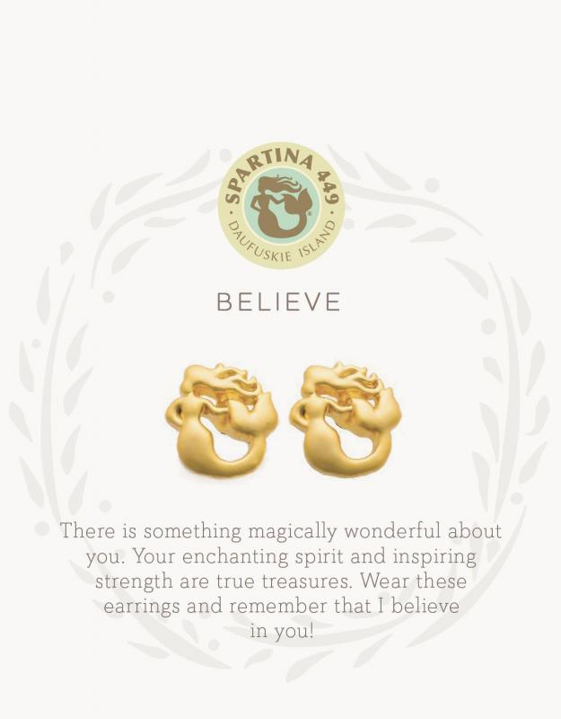 Spartina 449 Stud Earrings - Believe