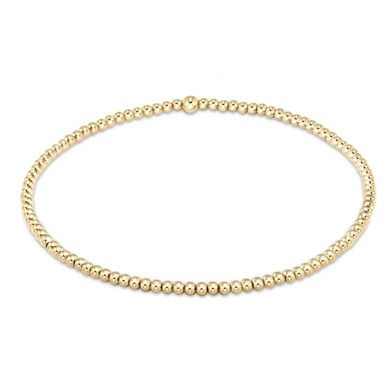 Enewton Classic Gold 2mm Bead Bracelet
