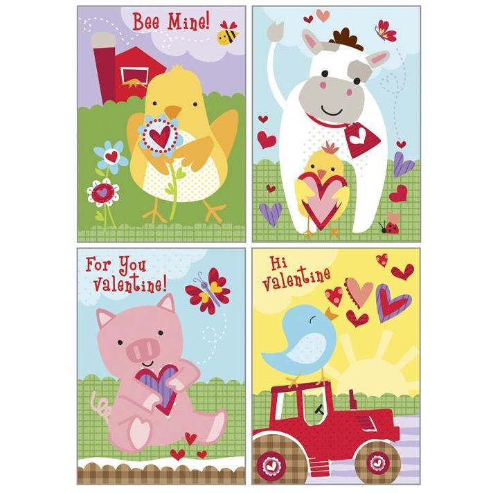 Kids Valentine Pack - On The Farm