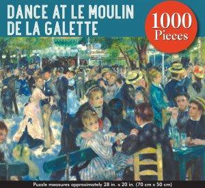 DANCE AT LE MOULIN DE LA GALETTE JIGSAW PUZZLE