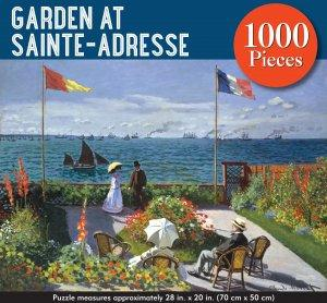 GARDEN AT SAINTE-ADRESSE JIGSAW PUZZLE