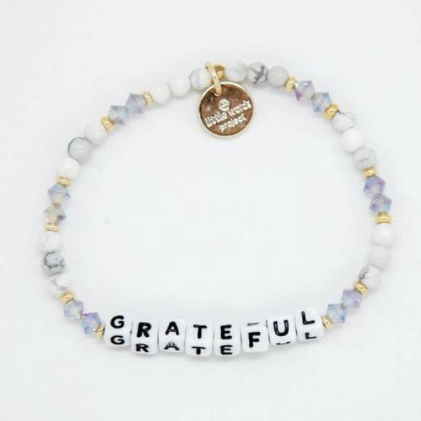 Little Words Project Bracelet - Grateful