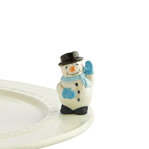 Nora Fleming Mini: Frosty Pal