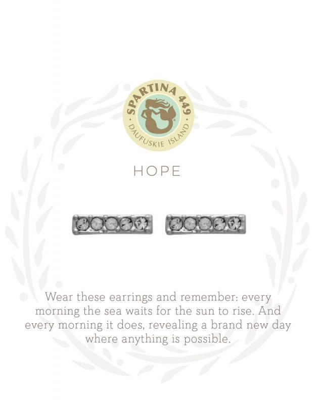 Spartina 449 Stud Earrings - Hope