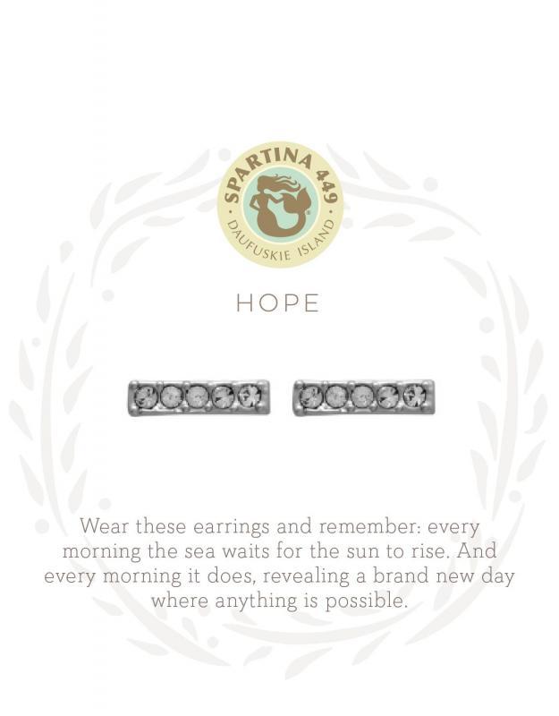 Spartina 449 Stud Earrings - Hope