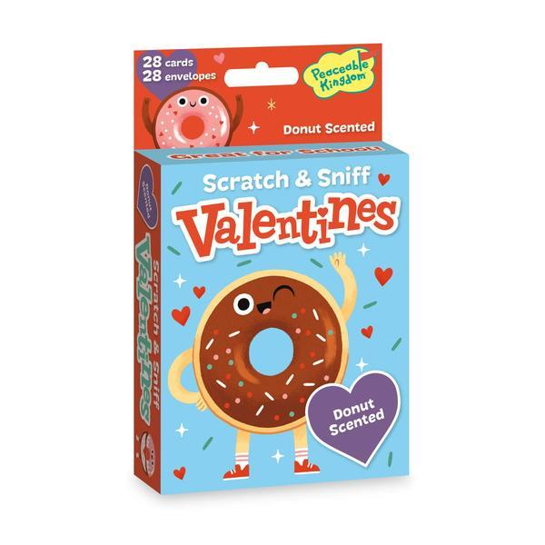 Scratch & Sniff Valentines - Donut Scented