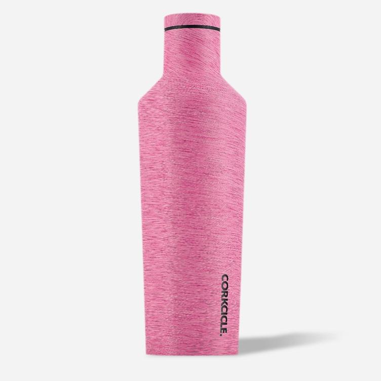 Corkcicle Canteen Heathered Pink 16 oz