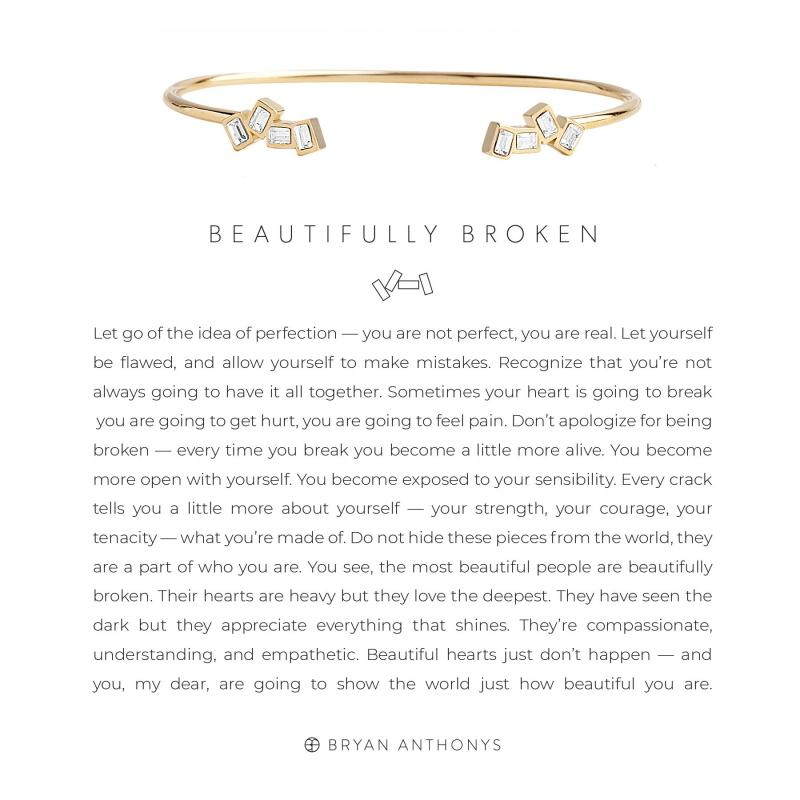 Bryan Anthonys Beautifully Broken Cuff (Gold)