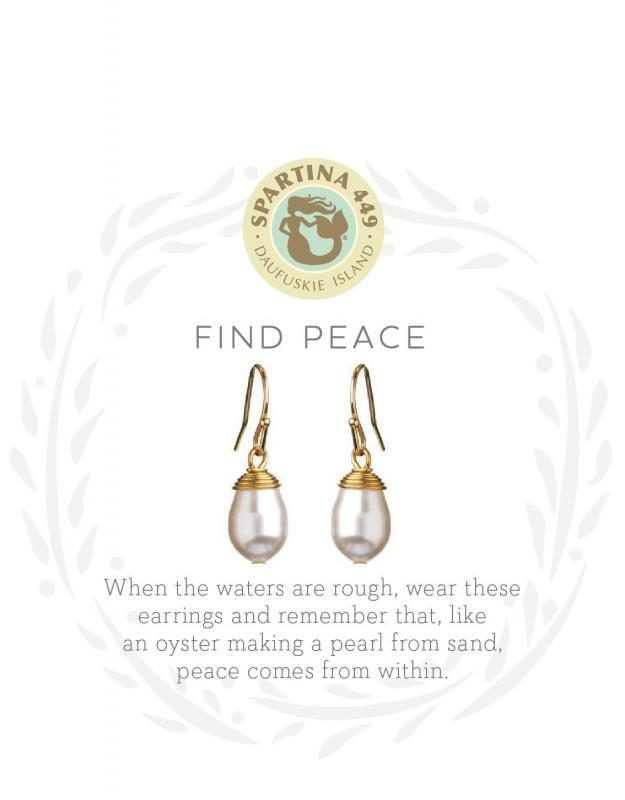 Spartina 449 Stud Earrings - Find Peace