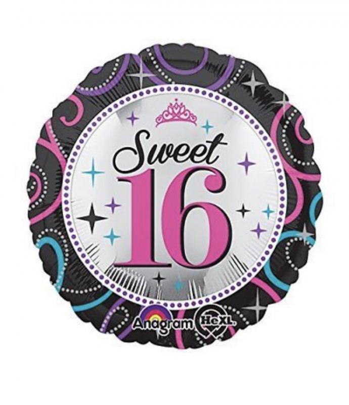 Sweet 16 Balloon