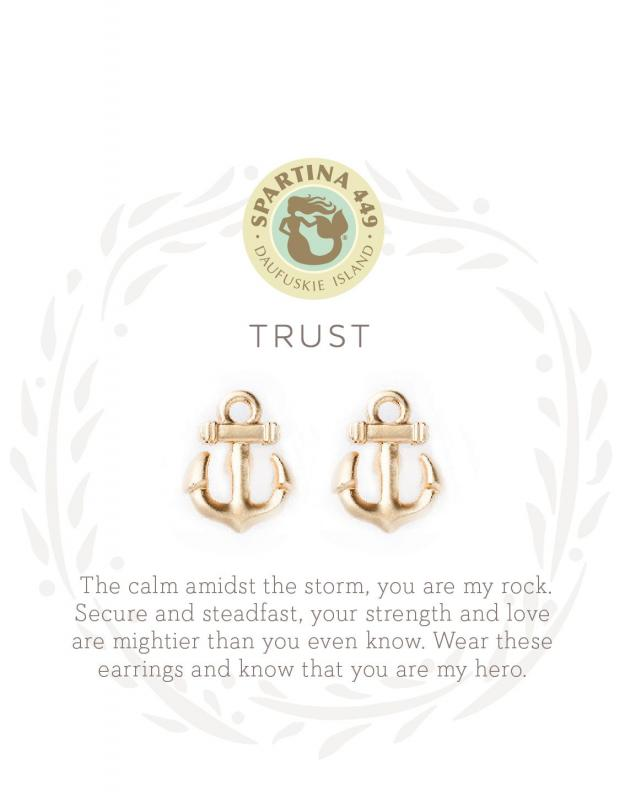 Spartina 449 Stud Earrings - Trust
