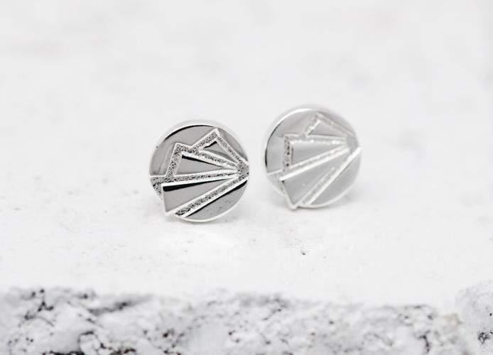Pieces Of Me Earrings - Ambitious (Silver)