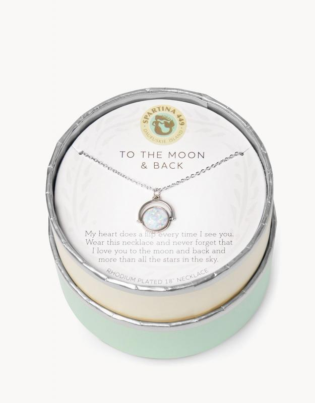 Spartina 449 Necklace - To The Moon And Back
