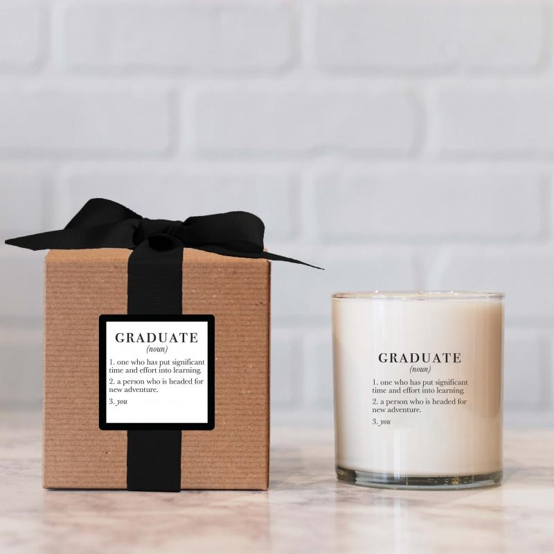 Graduate Ella B. Definition Candle