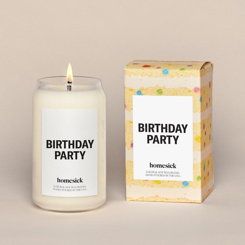 Homesick Candle - Birthday Party