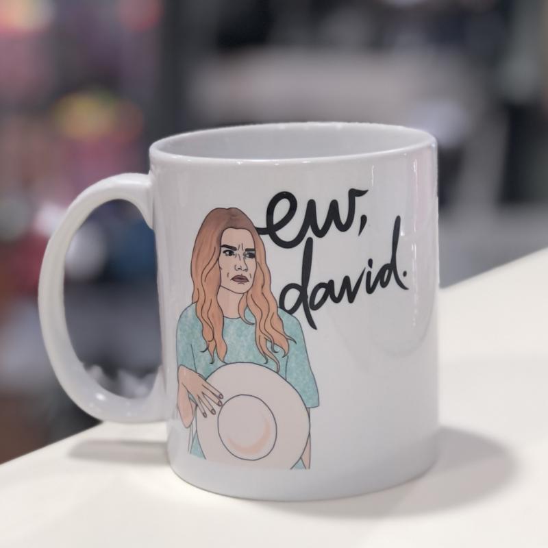 Schitt's Creek Mug - Ew, David