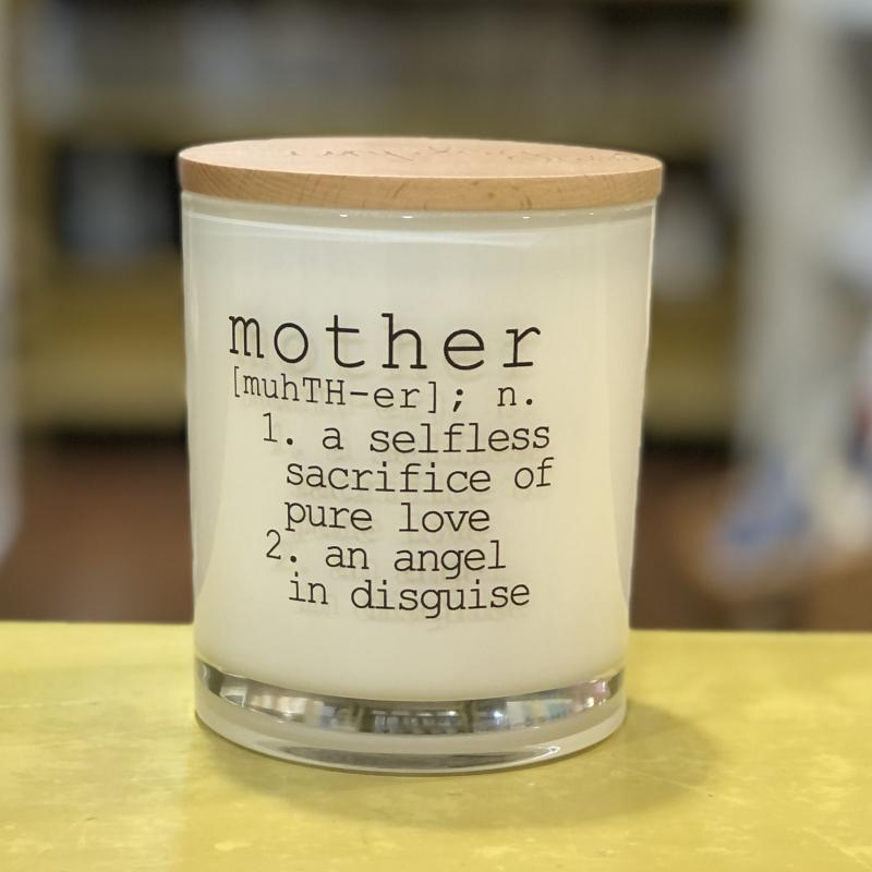 Mother Definition Soy Candle (Coconut Milk)