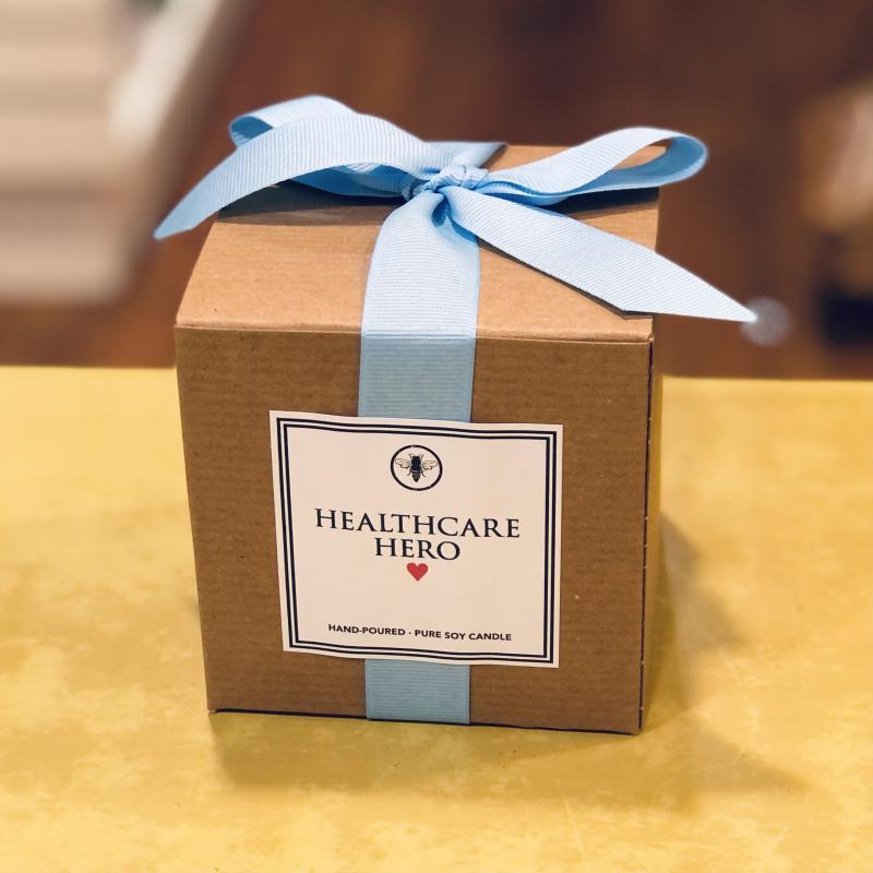 Healthcare Hero Soy Candle (Sandalwood & Vanilla)