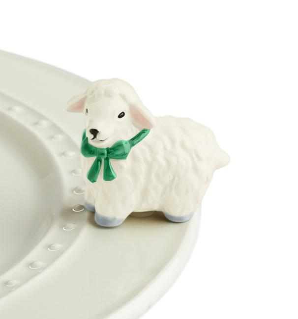 Nora Fleming Mini: I Love Ewe!