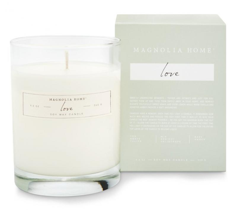 Love Soy Wax Candle