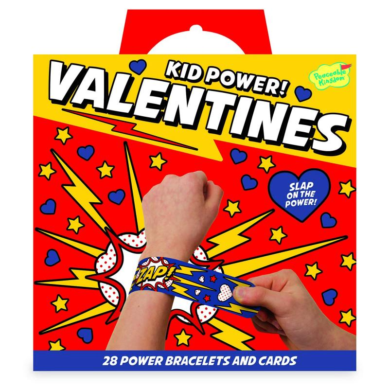 Kid Power Bracelet Valentines