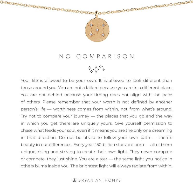 Bryan Anthonys Necklace - No Comparison (Gold)