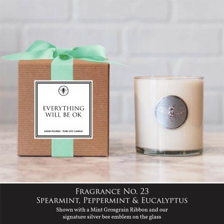 Everything Will Be Ok Candle