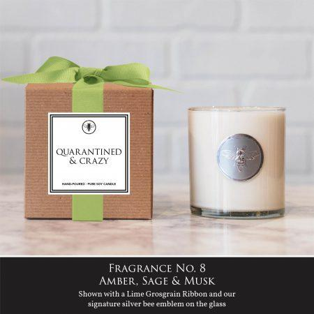 Quarentined & Crazy - Ella B. Candle